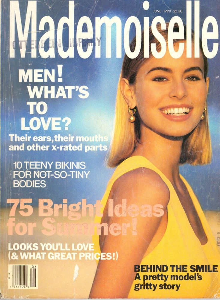 Mademoiselle Magazine 90s Lara Flynn Boyle Esme Marshall Lisa Stansfield Vintage | eBay