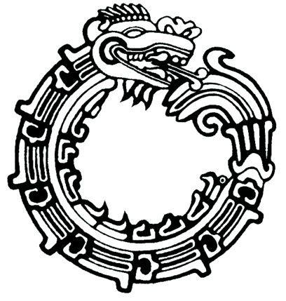 Quetzalcoatl Ouroboros — uroboro #mexico
