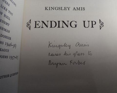AMIS, Kingsley. ENDING UP