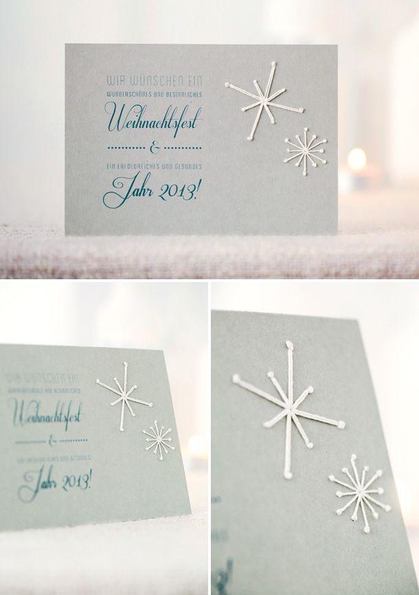 Tuerchen 9 - Bestickete Weihnachtskarten von Paul liebt Paula