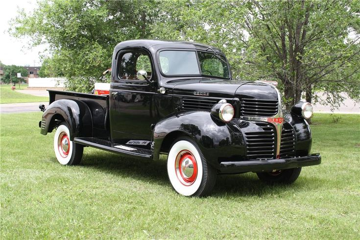1947 dodge pickup keeping it classic. Black Bedroom Furniture Sets. Home Design Ideas