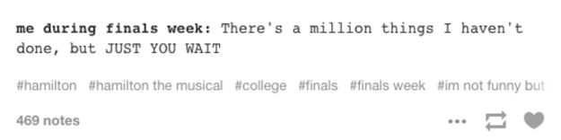 And finally, this positive self-talk: | 21 Tumblr Posts That Will Speak Directly To Your Soul During Finals Week