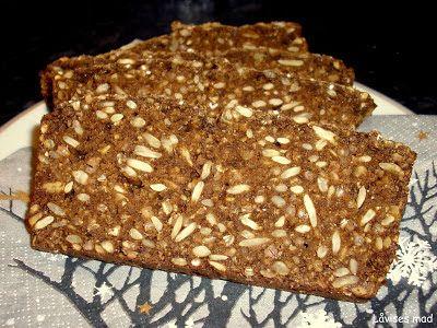 Låvises mad: Supernemt rugbrød med bagepulver.