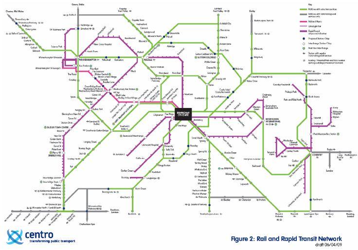 awesome Birmingham Metro Map Travelquaz Pinterest