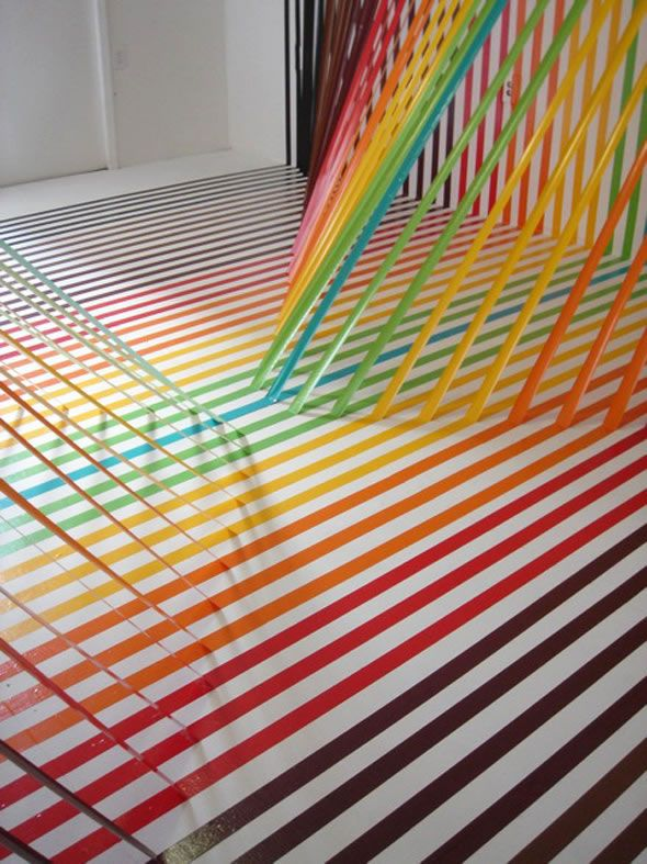 Impressive Art made with Tape!