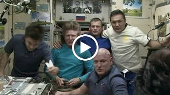 Soyuz Crew Lands in Kazakhstan   NASA September 11, 2015: The Soyuz spacecraft carrying Expedition 44 Commander Gennady Padalka of the Russian Federal Space Agency (Roscosmos) and Flight Engineers Andreas Mogensen of the European Space Agency and Aidyn Aimbetov of the Kazakh Space Agency (Kazcosmos), returned safely to Earth on Sept. 12 with a landing on the steppe of Kazakhstan. Padalka completed 168 days in space since launching in late March, boosting his all-time record total of time in…