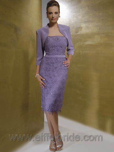 modest fancy mother of the bride dresses, purple perfect mother gown, litter jacket  mother dress