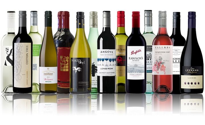 Stock Up on 15 Bottles of Premium Australian Red and White Wine for Just $89, Worth $285! Includes 5 star Halliday Rated Wineries Like Penfolds, Bleasdale, Chateau Tanunda & More! Delivered