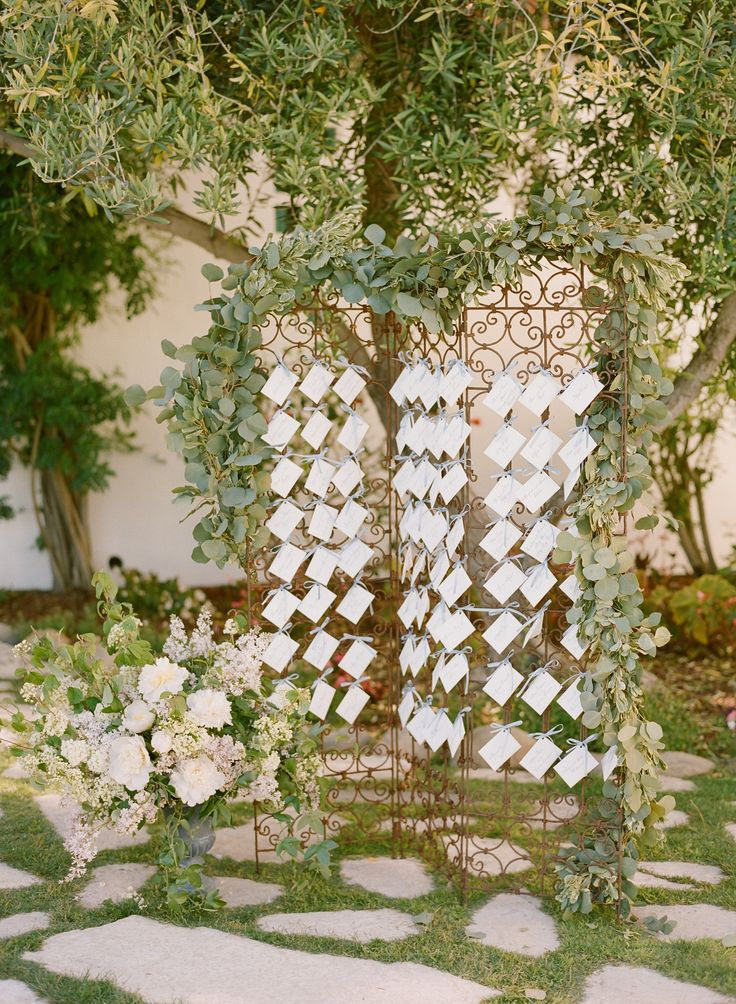 Adore this escort card display Photography Beaux