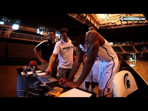 ▶ Michigan State Basketball 2013-14 Photo Shoot - YouTube