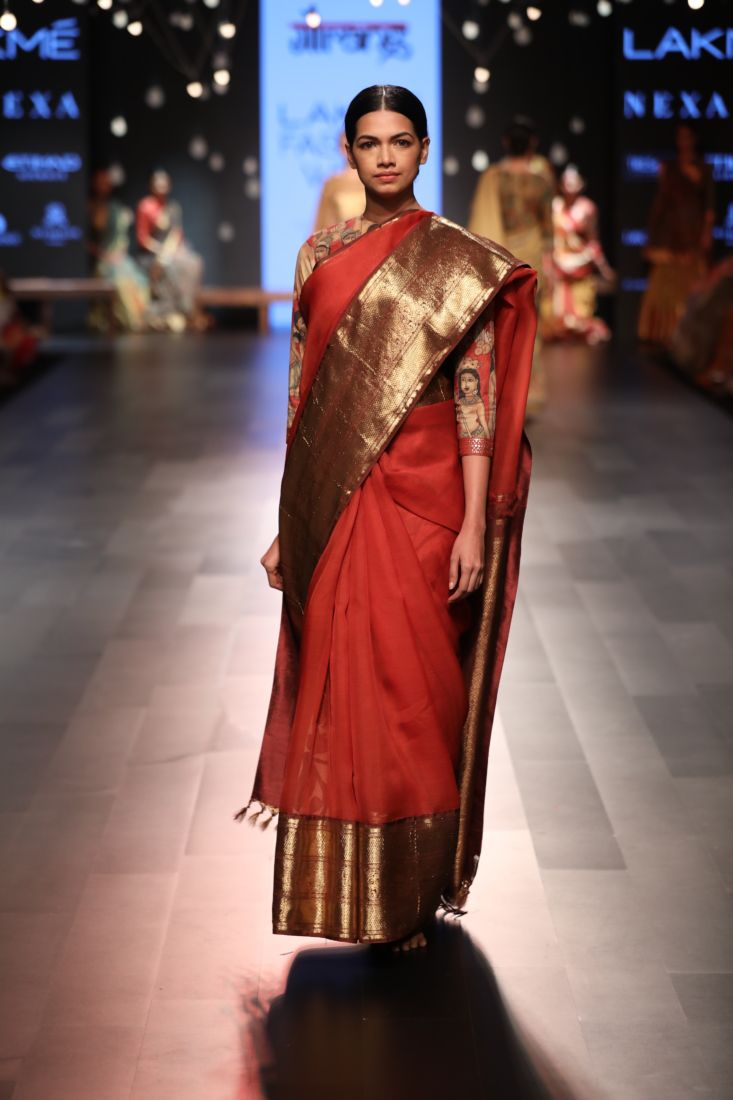 Gallery Gaurang Kalamkari Dresses Saree Designs Fashion
