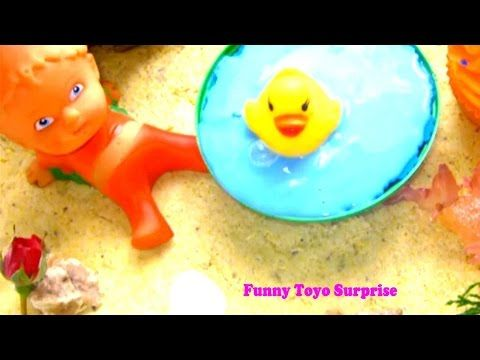 DIY How To Make Kinetic Sand Color Summer Beach Slime Clay Baby Video Funny Toyo Surprise - YouTube