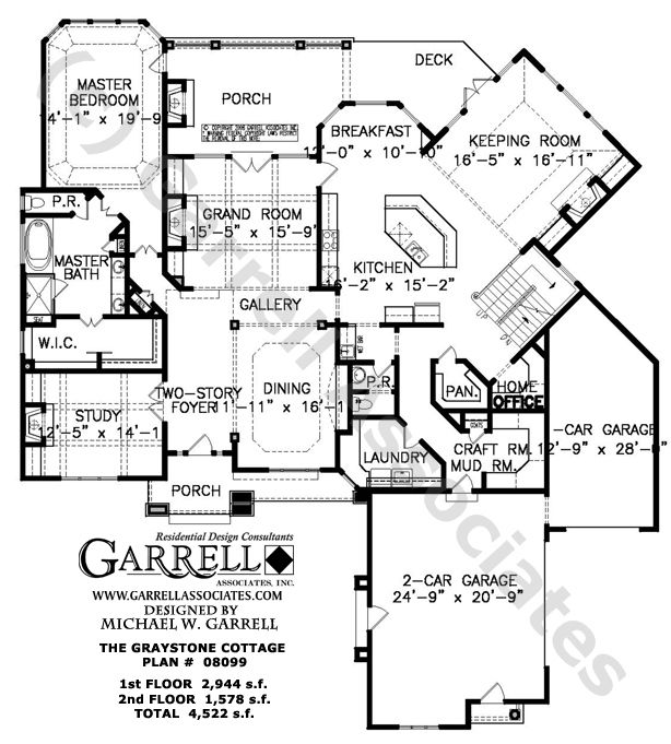 House Plan Nantahala Cottage House Plan Country House Plans With Large