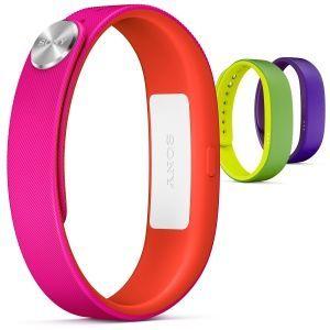 Все цвета радуги в Sony SmartBand - еще одном браслете от японского гиганта. Ждем весной...