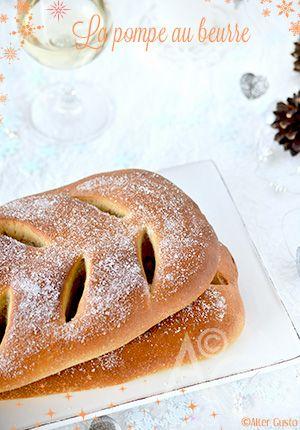 Au beurre ??? AU BEURRE ? Oh bonne mère ! J'en connais qui vont prendre l'estoumagade ! Et pourtant… On la trouve facilement, à la période de Noël, dans les boulangeries Marseillaises, trônant à côté de la pompe à l'huile....