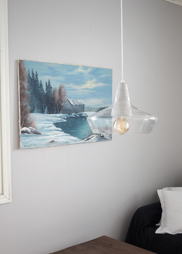 Nature is brought inside by the nature painting and Laaka pendant lamp designed by Laura Väre   #sessakdesign #sessaklighting #finnishdesign #lighting #Nature #Scandinavian #scandinaviandesign #Mediterranean