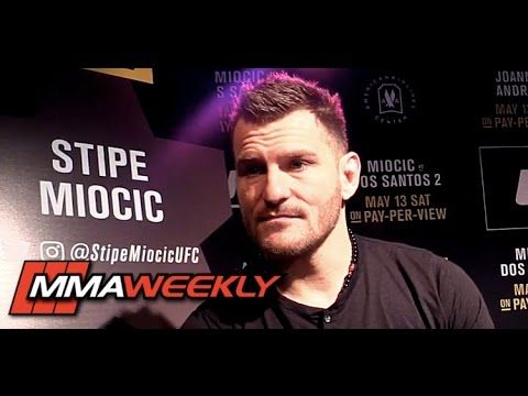 MMA Stipe Miocic Needed to Lose to Junior dos Santos in Their First Fight