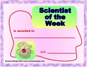 Scientist of the Week