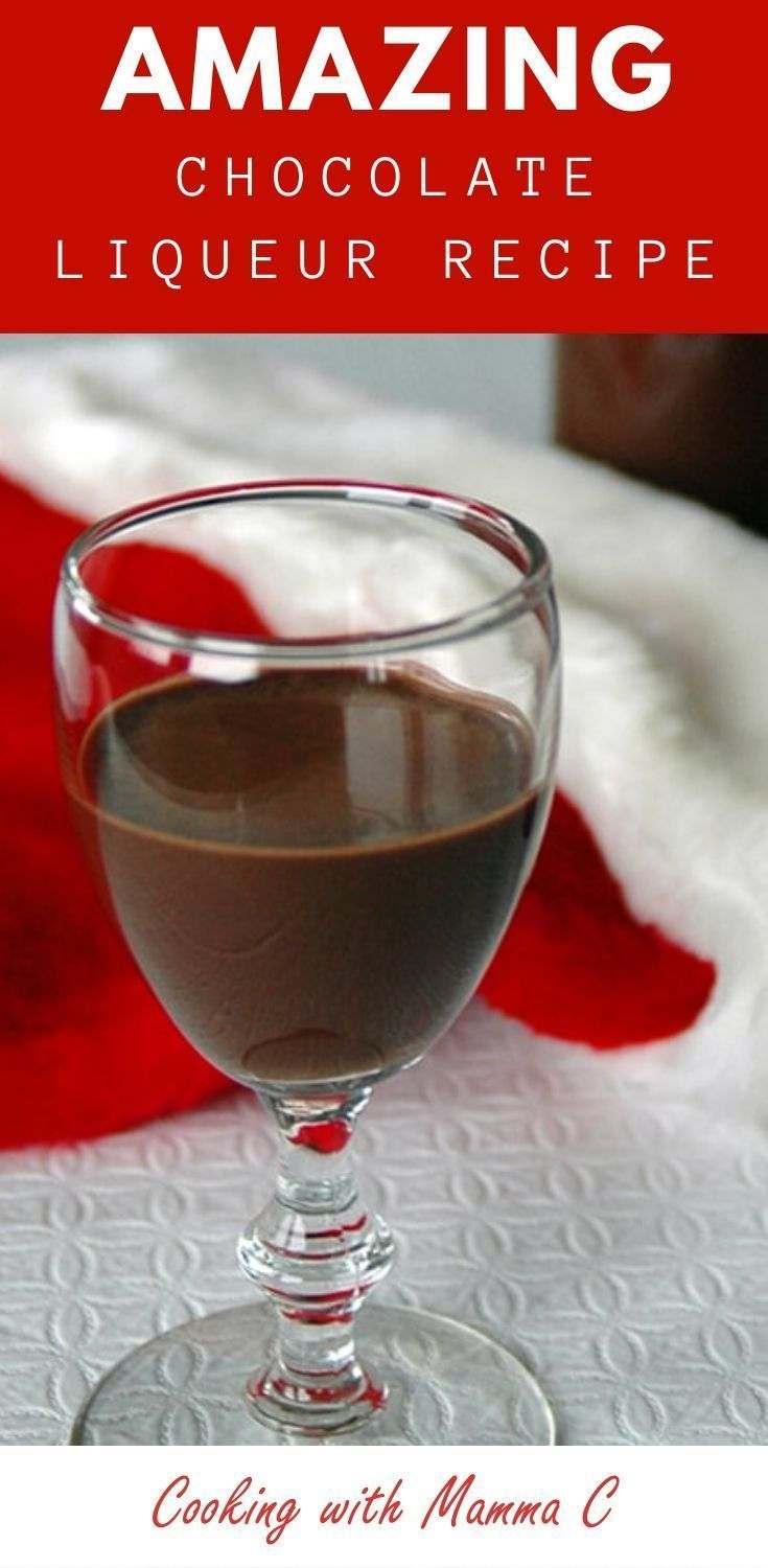 Homemade Chocolate Liqueur In 2020 Chocolate Liqueur Liqueurs Recipes Chocolate Alcoholic Drinks
