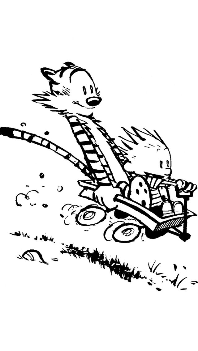 Calvin and hobbes colouring pages coloring page for Calvin and hobbes coloring pages