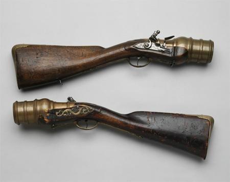 Lanzagranadas de chispa - Rusia - Siglo XVIII