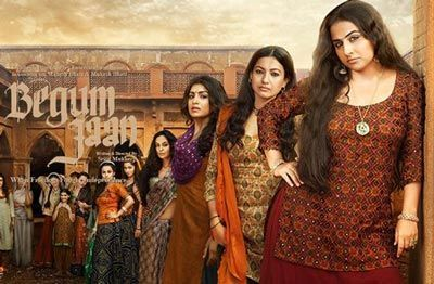 Begum Jaan Film is an Indian action and drama hindi movie. It's featuring bollywood stars Vidya Balan, Gauahar Khan, Ila Arun, Pallavi Sharda and Naseeruddin Shah. The music director is Anu Malik.