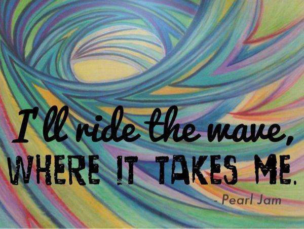 I'll Ride the Wave — Fear the Familiar