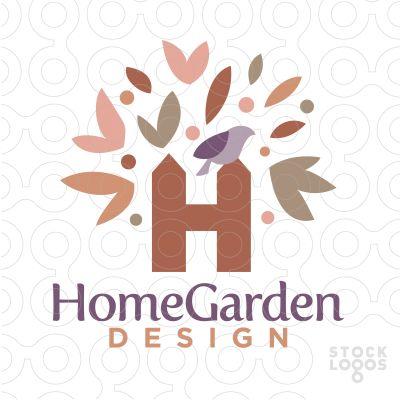 Home And Garden Logo By NancyCarterDesign