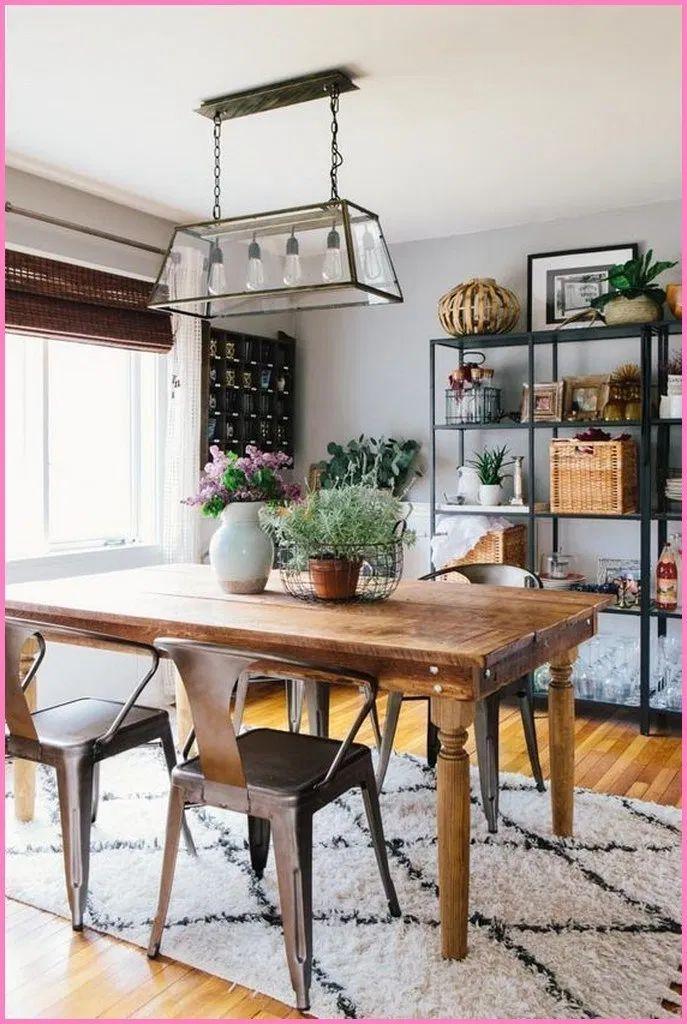 25 simple farmhouse dining room design ideas that looks