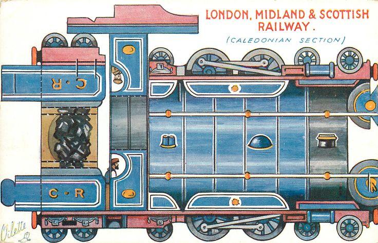 LONDON, MIDLAND & SCOTTISH RAILWAY (CALEDONIAN SECTION)
