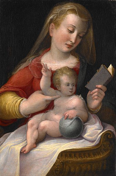 Barbara Longhi (Italian painter, 1552–1638) Madonna and Child c 1580