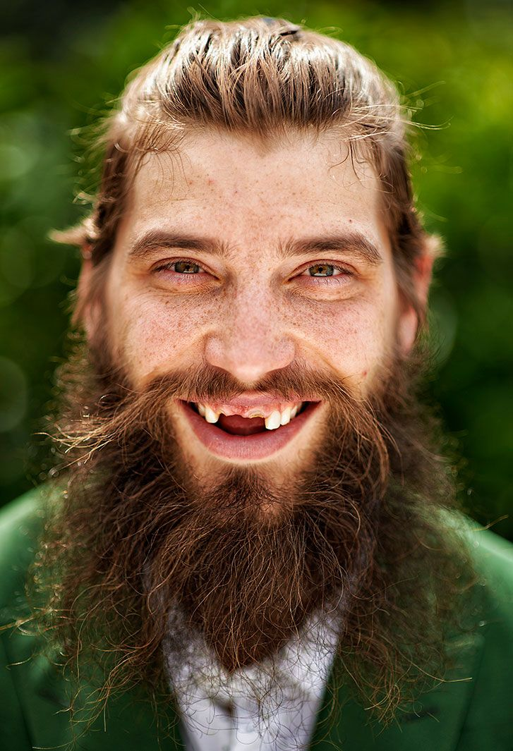 San Jose Sharks defenseman Brent Burns smiles during a photo shoot on April 26, 2016 outside his home in San Jose, Calif. World Smile Day is celebrated on the first Friday in the month of October every year since 1999. (Kohjiro Kinno) GALLERY:...