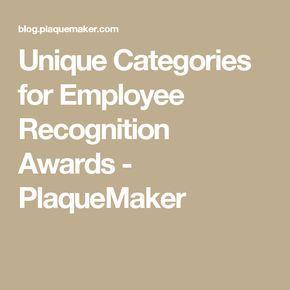 25 Unique Employee Recognition Ideas On Pinterest