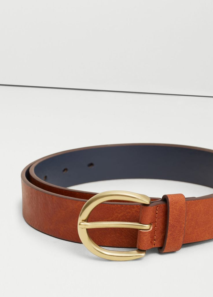 Metal buckle belt - Belts for Women | MANGO USA $20