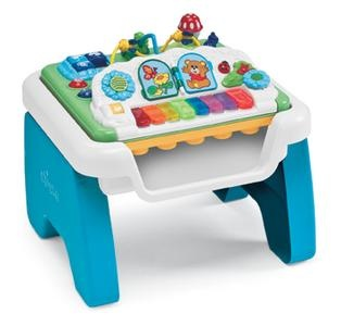 An Electronic Multi Function Musical Table That Features Several Activities  To Stimulate Babyu0027s Different Development