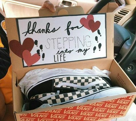 Happy national friend day! I just had to surprise him with something. He does … – Diy boyfriend gifts – #Boyfriend #DIY #something #friendday # …