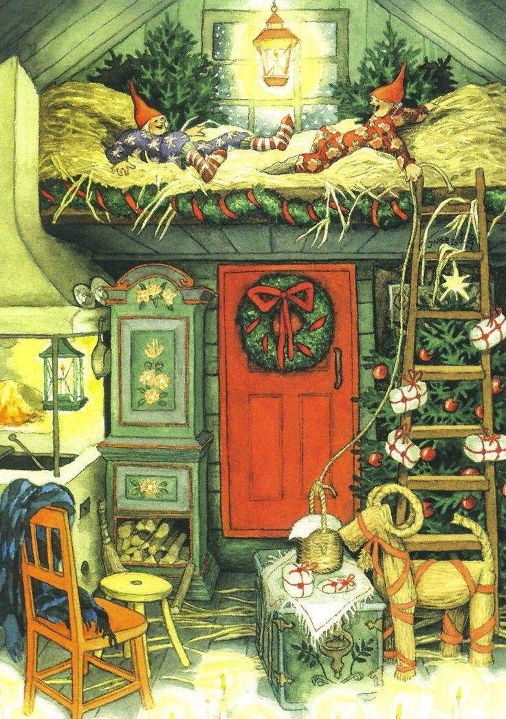 """Inge Löök: Weihnachten im Stroh - Postkarte """"NEU""""   eBay"""