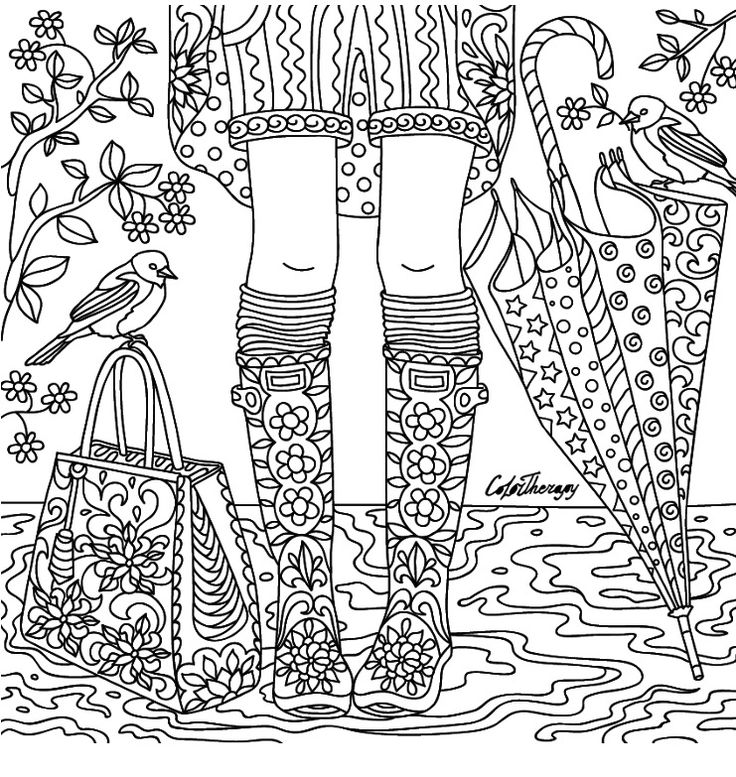 color app coloring pages | 4061 best Zentangles ~ Adult Colouring images on Pinterest
