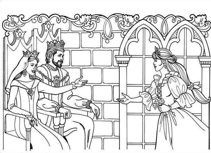 qeen coloring pages please - photo #46
