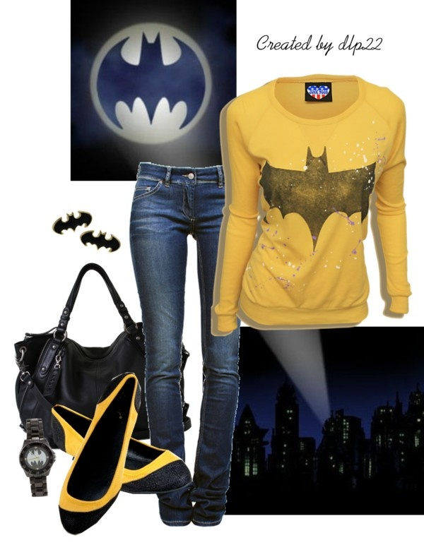 "Batman outfit :: i don't usually like this whole ""outfit"" things, but this one is an exception! :D"