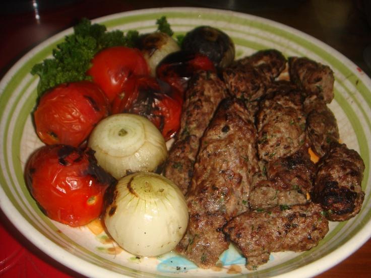 Dish 1: Persian (Beef Koobideh) http://the9dishchallenge.blogspot.com