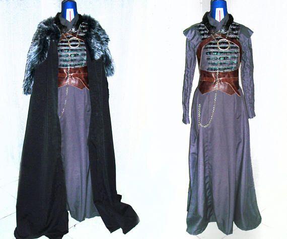 Sansa Stark robe-jeu de costume de Thrones Saison 7 robe