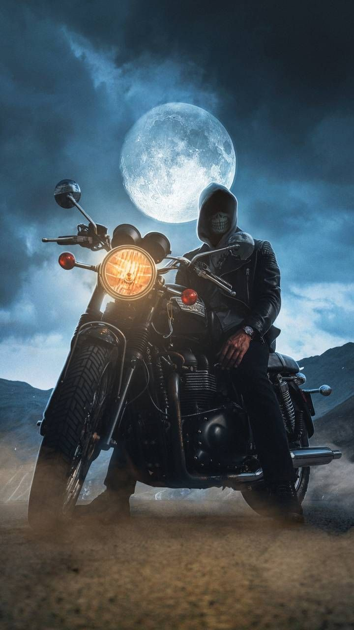 Download Night Biker Wallpaper By Georgekev E4 Free On Zedge Now Browse Millions Of Popular Bike Wallp Ghost Rider Wallpaper Disney Wallpaper Ghost Rider