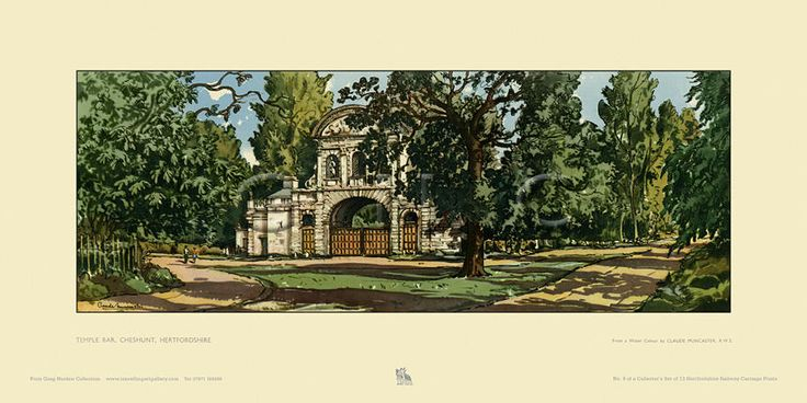 Temple Bar, Cheshunt by Claude Grahame Muncaster