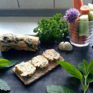 Lækker hjemmelavet laksepålæg med spinat og hvidløg
