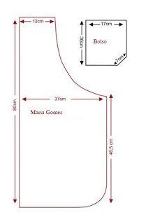 Linhas e Pontos: Avental