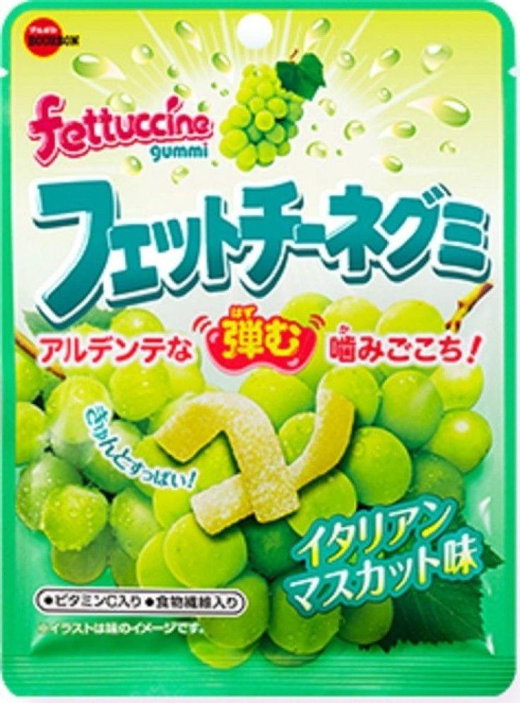 Bourbon Fettuccine Gummi Al Dente Food Texture Soft Gummy Candy Made in Japan | eBay