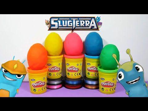 ✨ ¡Huevos de Slugterra recubiertos de Play doh! / Slugterra Eggs covered By Play Doh!✨ - YouTube
