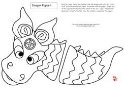 Chinese New Year Paper Dragon Craft