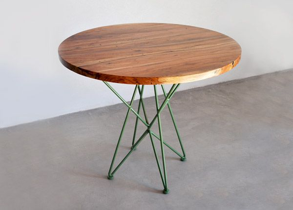 36″ Round Cafe Table → Garza Marfa